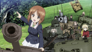 Girls und Panzer is getting a Switch game with English