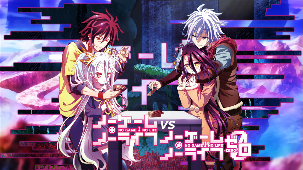 No Game No Life VS No Game No Life Zero