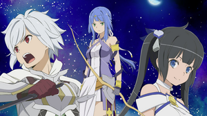 Is it wrong to try to pick up girls in a Dungeon Film got a Release Date in Japan!