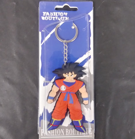 Dragon Ball Goku Rubber  Keychain