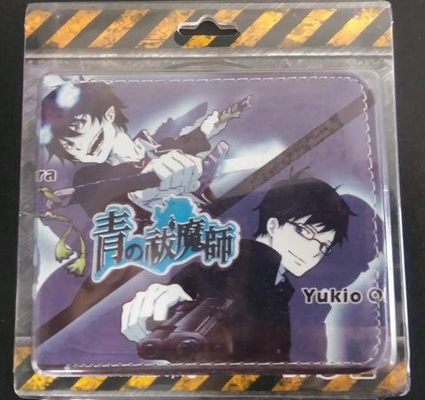 Wallet Double Decker Blue Exorcist