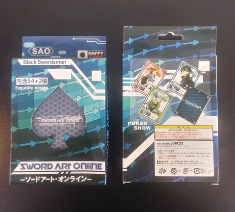 Poker Deck Sword Art Online