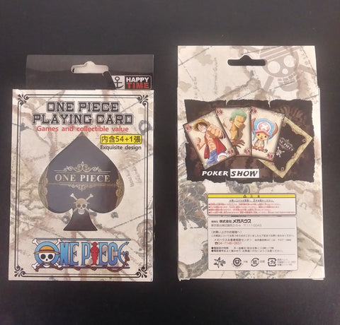 Poker Deck One Piece