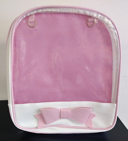 Translucent Lolita Style backpack White/Pink