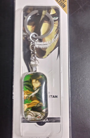 Attack on Titan Levi Dogtag Keychain