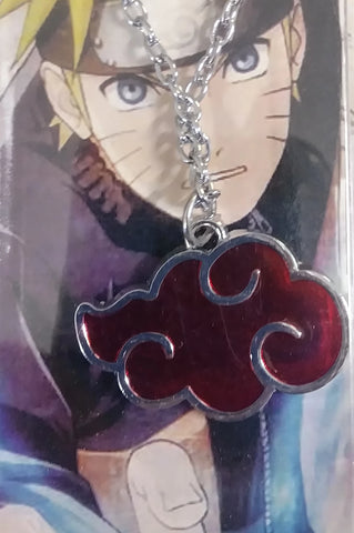 Necklace Naruto Akatsuki Cloud