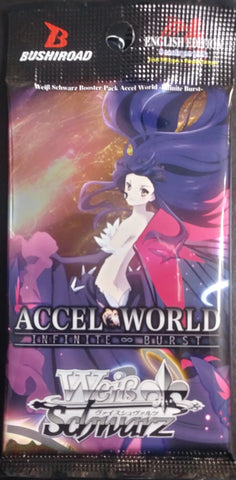 WeiB Schwarz Boosters Accel World