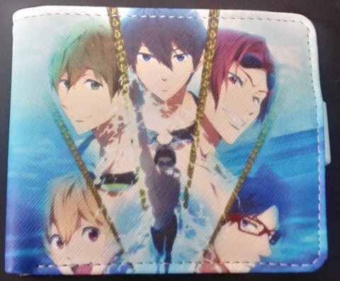 Wallet Other Free! Iwatobi Swim Club
