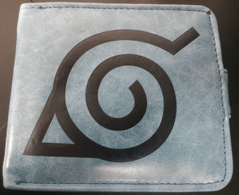 Wallet Double Decker Logo Naruto