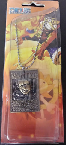 Necklace One Piece Wanted Roronoa Zoro