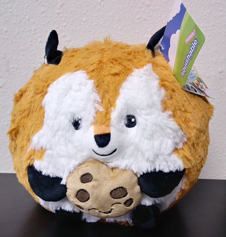 Squishable Mini Fox Holding a Cookie