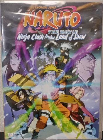 DVD Naruto The Movie Ninja Clash in the Land of Snow