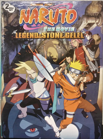 Naruto The Movie Legend of the Stone of Gelel DVD