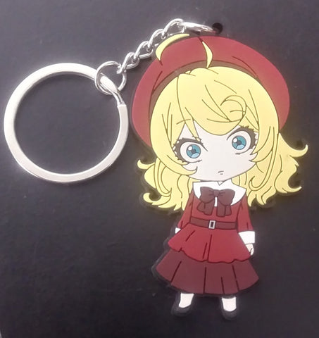 Saga of Tanya the Evil Propaganda Keychain