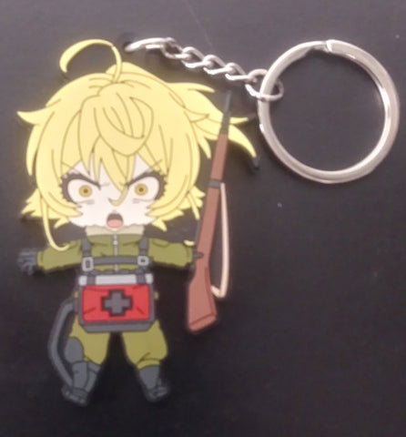 Saga of Tanya the Evil Combat Keychain