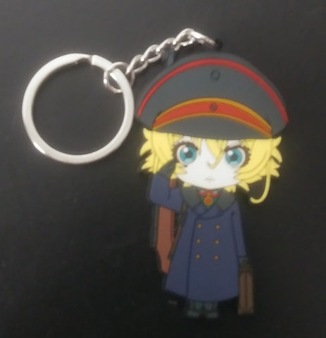 Saga of Tanya the Evil Coat Keychain