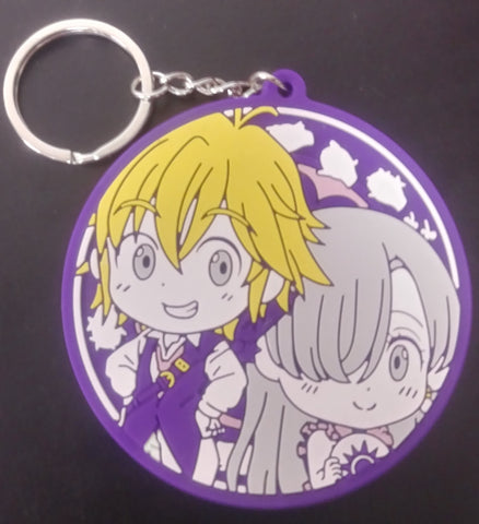 Keychain Seven Deadly Sins Meliodas and Elizabeth