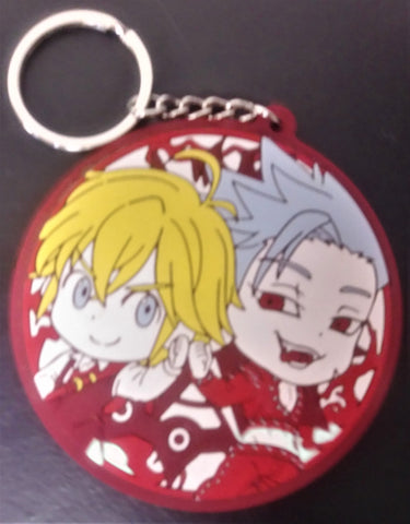Keychain Seven Deadly Sins Meliodas and Ban