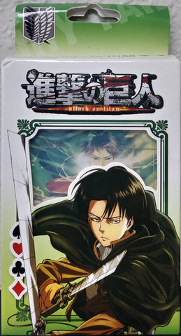 Poker Deck Attack on Titan