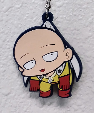 Keychain One Punch Man Rubber