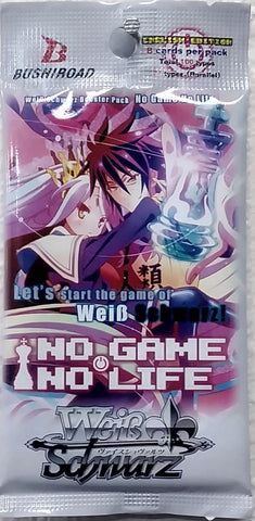 WeiB Schwarz Boosters No Game No Life