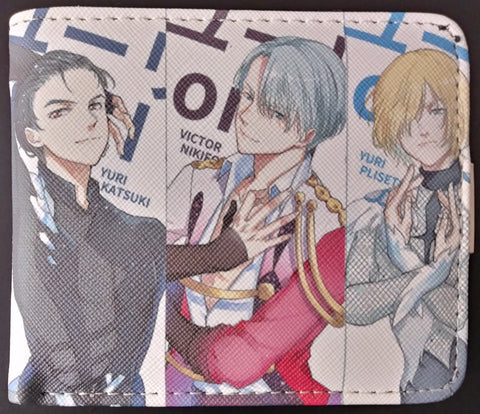 Wallet Yuri on Ice - Main Three