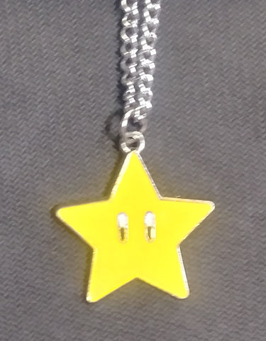 Necklace Mario Star