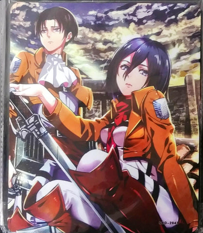 Attack on Titan Mikasa and Levi Mouse Pad