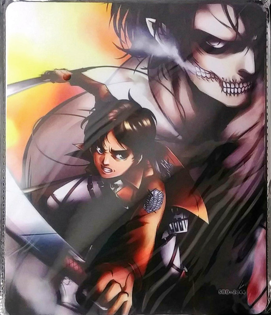 Attack On Titan Eren Yeager With Titan Form Mouse Pad Theanimecode