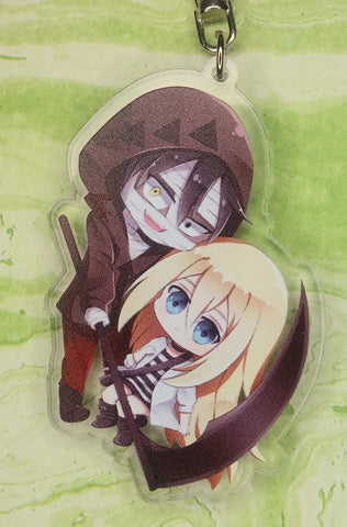 Angels of Death Zack and Rachel Acrylic Keychain