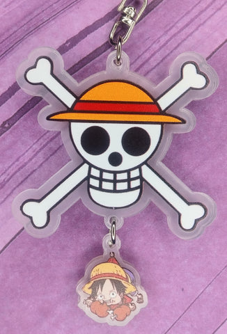 One Piece Luffy Acrylic Keychain