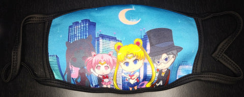 Sailor Moon ANIMEinU Face Mask