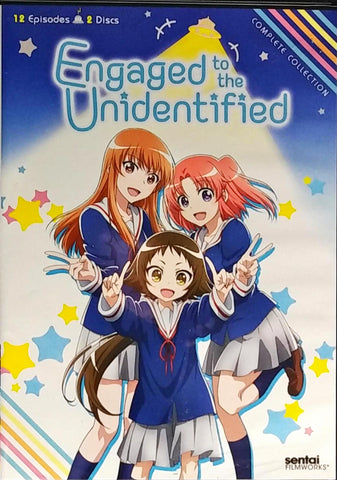 Engaged to the Unidentified DVD Complete Collection Sealed