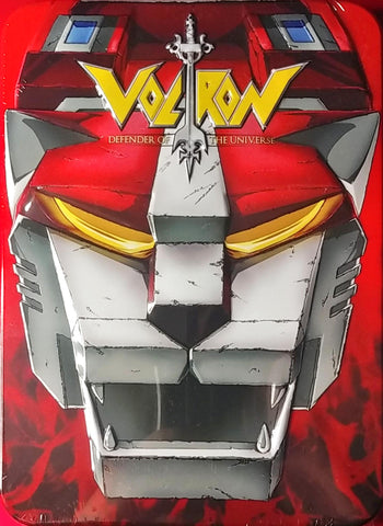 Voltron Defender Of The Universe DVD Tin Set 4 Sealed
