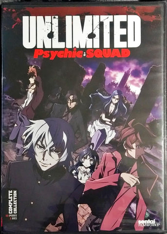Unlimited Psychic Squad DVD Complete Collection Sealed