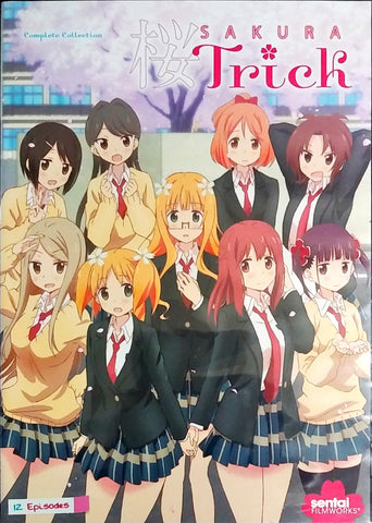 Sakura Trick DVD Complete Collection Sealed