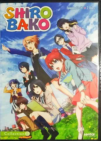 SHIROBAKO DVD Collection 2 Sealed