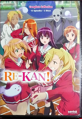 RE-KAN! DVD Complete Collection Sealed