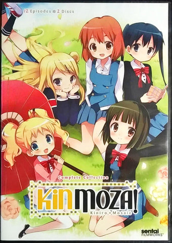 Kinmoza! DVD Complete Collection Sealed