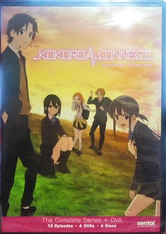 Kokoro Connect DVD Complete Collection Sealed