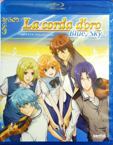 La Corda d'Oro Blue Sky Blu-ray Complete Collection Sealed