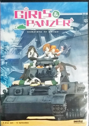 Girls und Panzer DVD Complete Collection Sealed