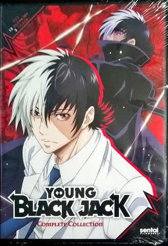Young Black Jack DVD Complete Collection Sealed