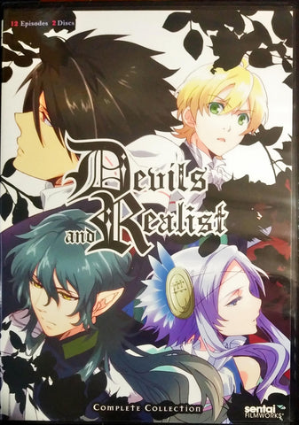 Devils and Realist DVD Complete Collection Sealed