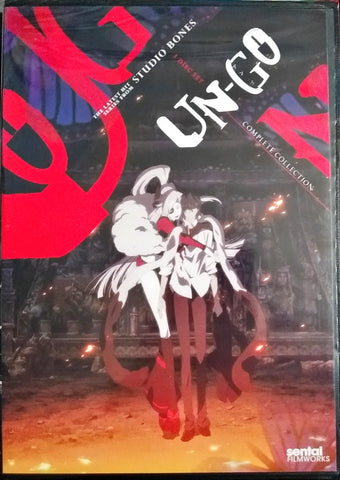 Un-Go DVD Complete Collection Sealed