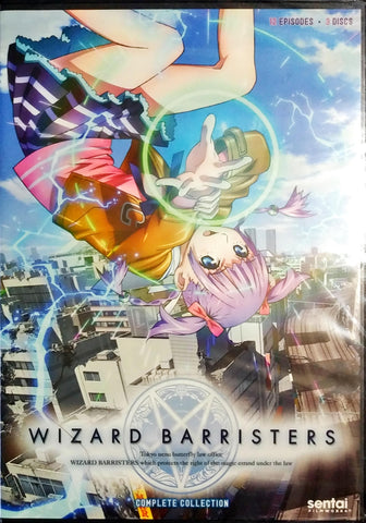 Wizard Barristers DVD Complete Collection Sealed