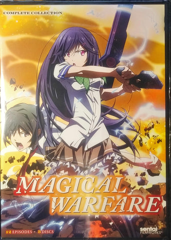 Magical Warfare DVD Complete Collection Sealed