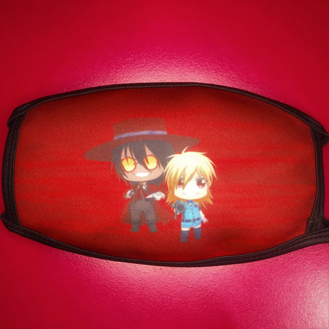 Hellsing ANIMEinU Face Mask