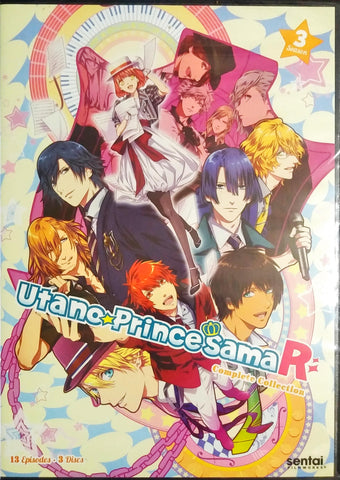 Uta no Prince-sama Revolutions! Season 3 DVD Complete Collection Sealed