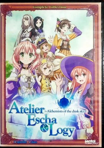 Atelier Escha & Logy Alchemists of the Dusk Sky DVD Complete Collection Sealed